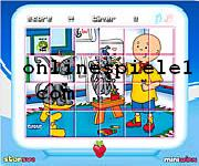 Caillou rotate puzzle Gute online spiele